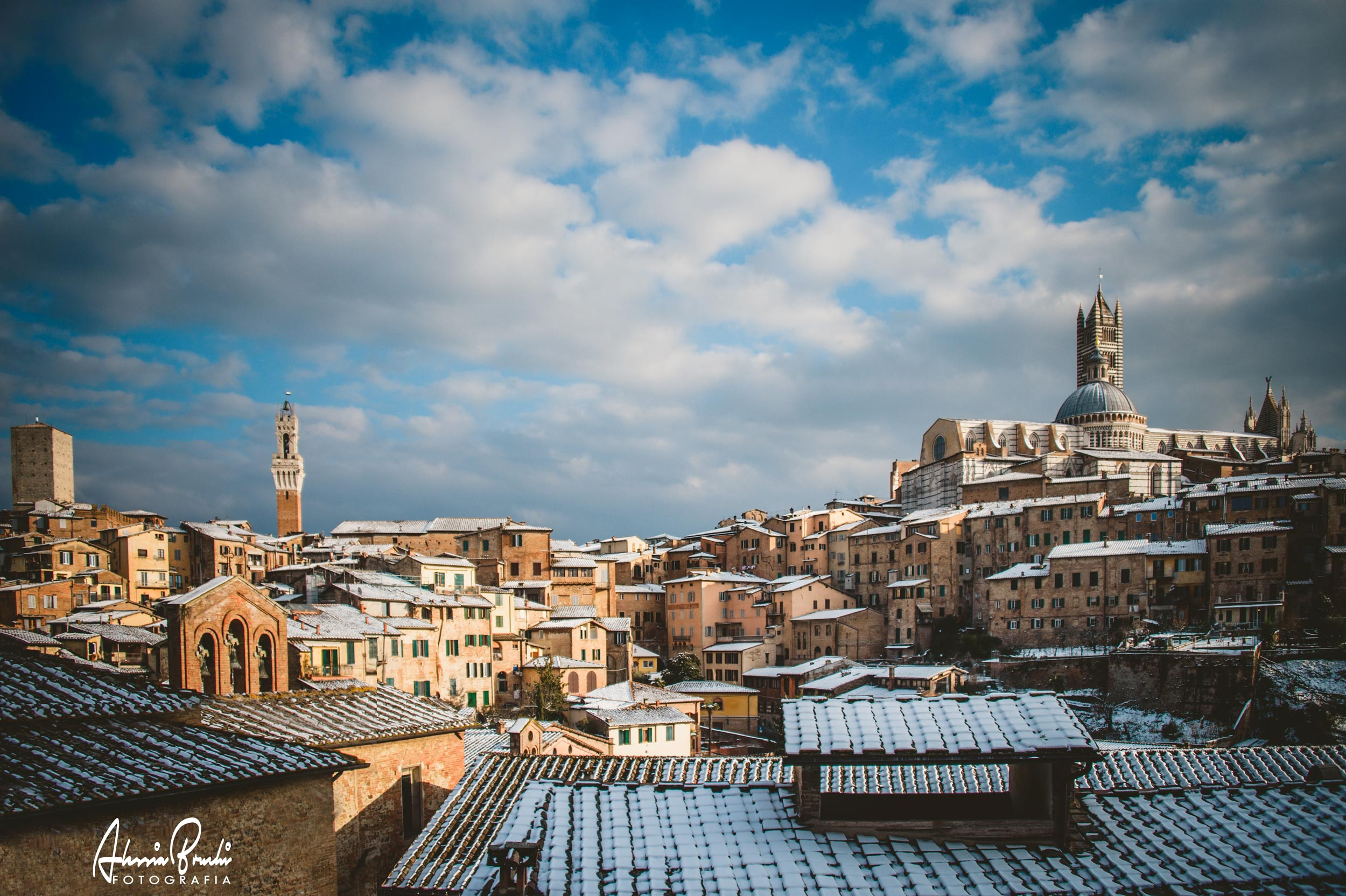 alessia bruchi fotografia landscapes photographer - winter in siena tuscany