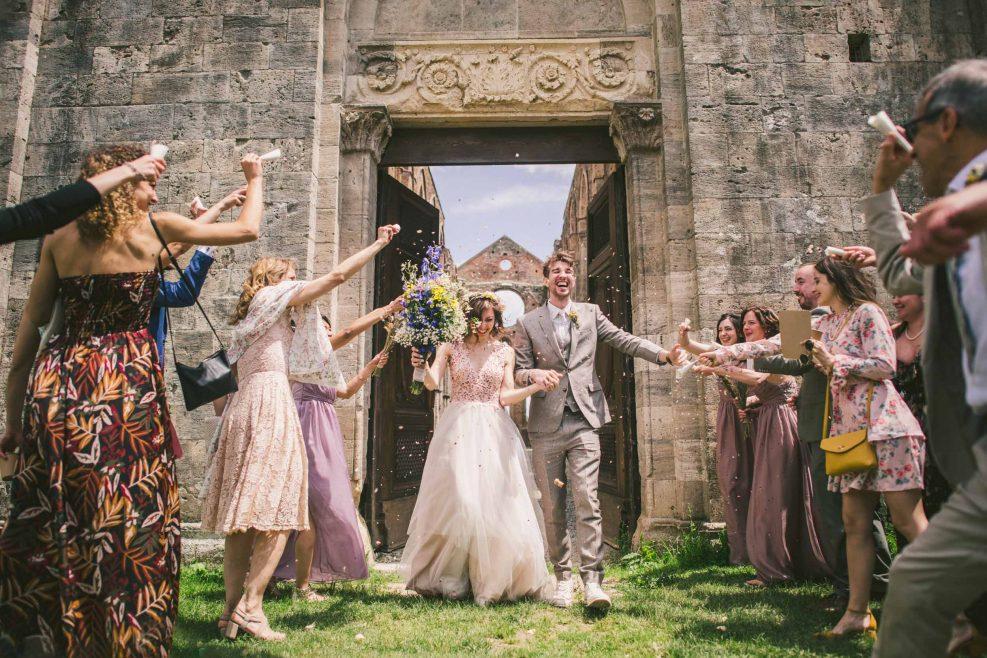 Destination Wedding in San Galgano Abbey