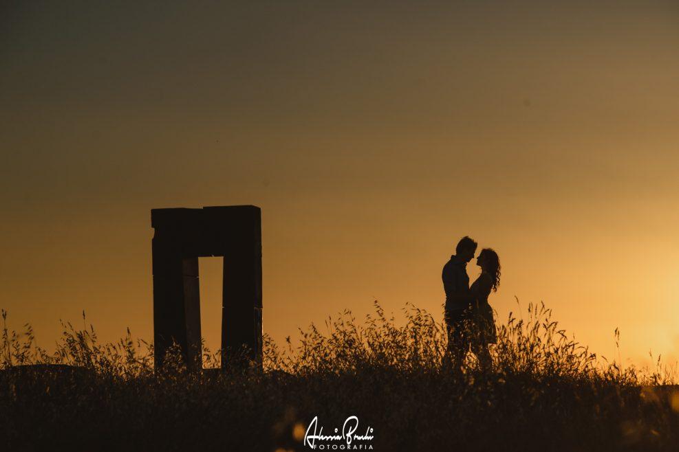 Engagements Photos in Crete Senesi Tuscany